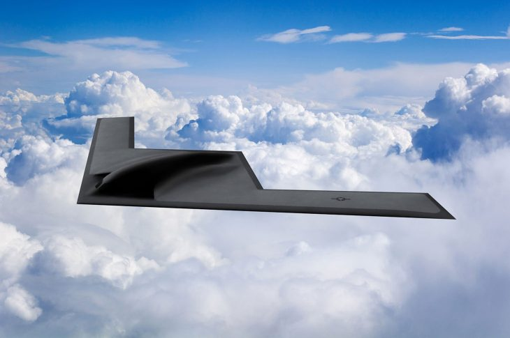Nowy oficjalny render bombowca B-21 Raider, render bombowca B-21 Raider, render B-21 Raider, render B-21