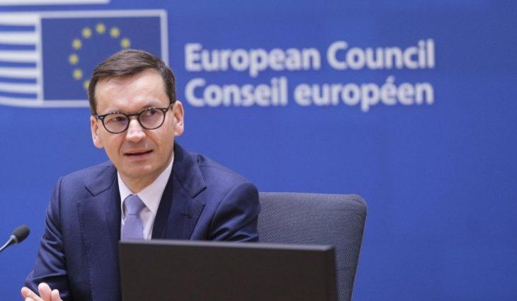 Polski premier na szczycie UE w Brukseli (dpa / AA / Thierry Monasse )